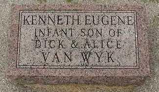 VANWYK, KENNETH EUGENE - Sioux County, Iowa   KENNETH EUGENE VANWYK