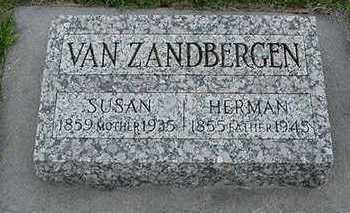 VANZANDBERGEN, HERMAN - Sioux County, Iowa | HERMAN VANZANDBERGEN