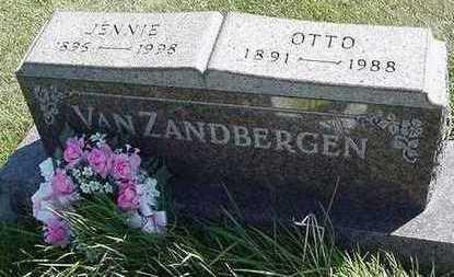 VANZANDBERGEN, JENNIE (MRS. OTTO) - Sioux County, Iowa | JENNIE (MRS. OTTO) VANZANDBERGEN