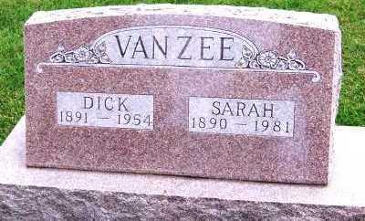 VANZEE, SARAH - Sioux County, Iowa   SARAH VANZEE