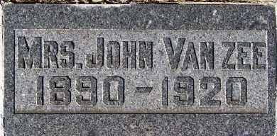 VANZEE, MRS. JOHN - Sioux County, Iowa | MRS. JOHN VANZEE