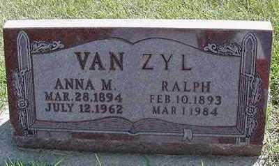 VANZYL, RALPH - Sioux County, Iowa | RALPH VANZYL