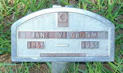 VELDBOOM, JANE - Sioux County, Iowa   JANE VELDBOOM