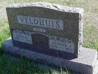 VELDHUIS, BEREND J. - Sioux County, Iowa | BEREND J. VELDHUIS