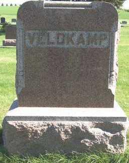 VELDKAMP, HEADSTONE - Sioux County, Iowa | HEADSTONE VELDKAMP
