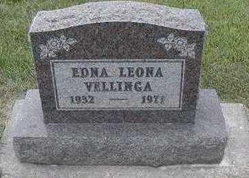 VELLINGA, EDNA LEONA - Sioux County, Iowa | EDNA LEONA VELLINGA