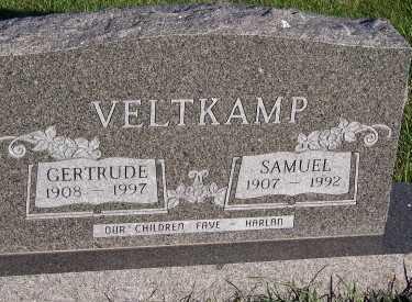 VELTKAMP, SAMUEL - Sioux County, Iowa | SAMUEL VELTKAMP