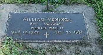 VENINGA, WILLIAM - Sioux County, Iowa | WILLIAM VENINGA