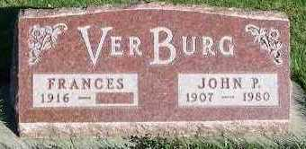 VERBURG, FRANCES (MRS. JOHN P.) - Sioux County, Iowa | FRANCES (MRS. JOHN P.) VERBURG