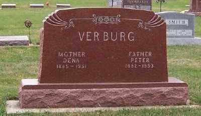 VERBURG, PETER - Sioux County, Iowa | PETER VERBURG
