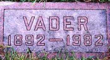 VERDOORN, D. (VADER) - Sioux County, Iowa | D. (VADER) VERDOORN