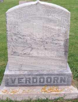 ROUBOS VERDOORN, EMMA (MRS. HENDRIK) - Sioux County, Iowa | EMMA (MRS. HENDRIK) ROUBOS VERDOORN