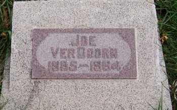 VERDOORN, JOE - Sioux County, Iowa | JOE VERDOORN