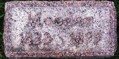 VERDOORN, MOEDER (MOTHER) - Sioux County, Iowa | MOEDER (MOTHER) VERDOORN