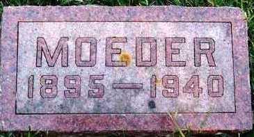 VERDOORN, MOTHER - Sioux County, Iowa | MOTHER VERDOORN