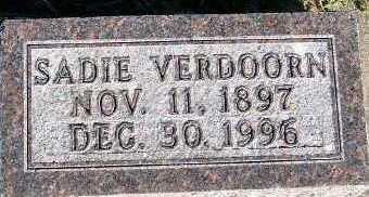 VERDOORN, SADIE - Sioux County, Iowa | SADIE VERDOORN