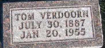 VERDOORN, TOM - Sioux County, Iowa | TOM VERDOORN