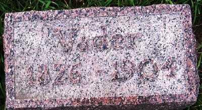 VERDOORN, VADER (FATHER) - Sioux County, Iowa   VADER (FATHER) VERDOORN