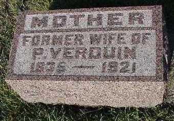 VERDUIN, PETER MRS. - Sioux County, Iowa   PETER MRS. VERDUIN