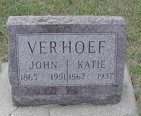 VERHOEF, KATIE - Sioux County, Iowa | KATIE VERHOEF