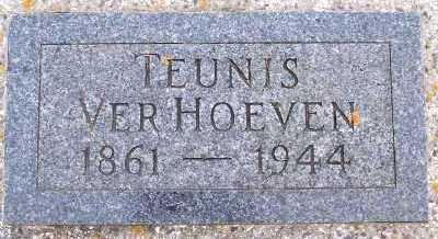 VERHOEVEN, TEUNIS - Sioux County, Iowa | TEUNIS VERHOEVEN