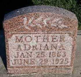 VERMAAS, ADRIANA - Sioux County, Iowa | ADRIANA VERMAAS