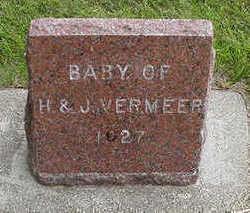 VERMEER, BABY OF H. & J. - Sioux County, Iowa | BABY OF H. & J. VERMEER