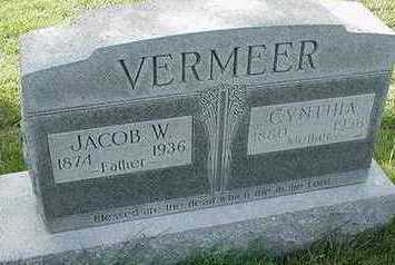 VERMEER, CYNTHIA (MRS. JACOB W.) - Sioux County, Iowa | CYNTHIA (MRS. JACOB W.) VERMEER