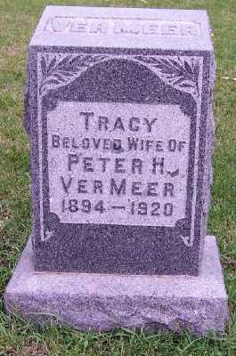 VERMEER, TRACY (MRS. PETER H.) - Sioux County, Iowa   TRACY (MRS. PETER H.) VERMEER