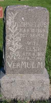 VERMULM, ELSIE - Sioux County, Iowa | ELSIE VERMULM