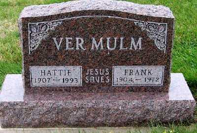 VERMULM, HATTIE - Sioux County, Iowa | HATTIE VERMULM