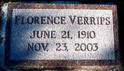 VERRIPS, FLORENCE - Sioux County, Iowa | FLORENCE VERRIPS