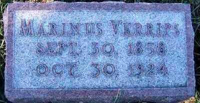 VERRIPS, MARINUS - Sioux County, Iowa | MARINUS VERRIPS