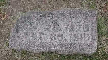 VERSTEEG, B.  D.1915 - Sioux County, Iowa | B.  D.1915 VERSTEEG
