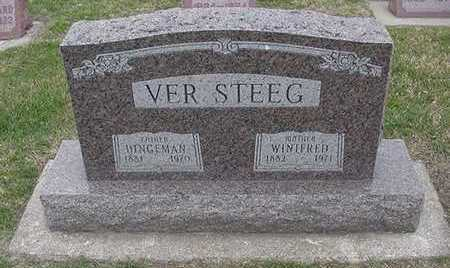VERSTEEG, WINIFRED  (MRS. DINGEMAN) - Sioux County, Iowa | WINIFRED  (MRS. DINGEMAN) VERSTEEG