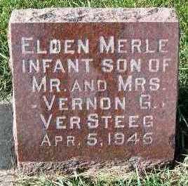 VERSTEEG, ELDEN MERLE - Sioux County, Iowa | ELDEN MERLE VERSTEEG