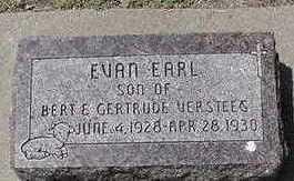 VERSTEEG, EVAN EARL - Sioux County, Iowa   EVAN EARL VERSTEEG