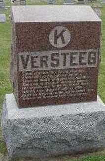 VERSTEEG, K.  HEADSTONE - Sioux County, Iowa   K.  HEADSTONE VERSTEEG