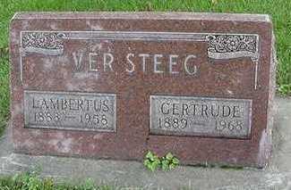 VERSTEEG, LAMBERTUS - Sioux County, Iowa | LAMBERTUS VERSTEEG