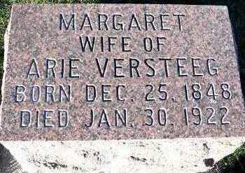 VERSTEEG, MARGARET (MRS. ARIE) - Sioux County, Iowa | MARGARET (MRS. ARIE) VERSTEEG