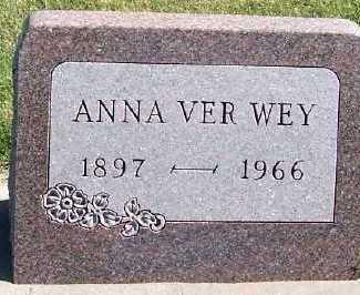 VERWEY, ANNA - Sioux County, Iowa | ANNA VERWEY