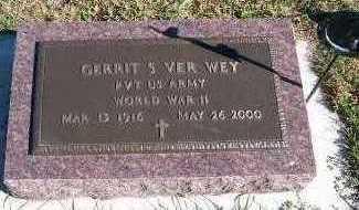 VERWEY, GERRIT S. - Sioux County, Iowa | GERRIT S. VERWEY