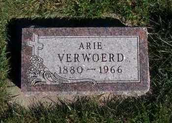 VERWOERD, ARIE - Sioux County, Iowa | ARIE VERWOERD