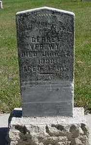 VERWY, GERRIT - Sioux County, Iowa | GERRIT VERWY
