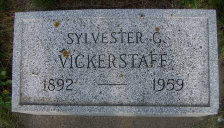 VICKERSTAFF, SYLVESTER G. - Sioux County, Iowa | SYLVESTER G. VICKERSTAFF