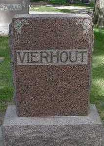 VIERHOUT, HEADSTONE - Sioux County, Iowa | HEADSTONE VIERHOUT