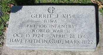 VIS, GERRIT J. - Sioux County, Iowa | GERRIT J. VIS
