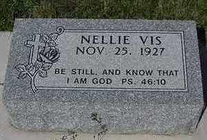 VIS, NELLIE - Sioux County, Iowa | NELLIE VIS