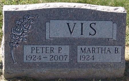 VIS, PETER P. - Sioux County, Iowa   PETER P. VIS