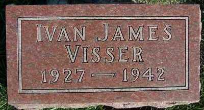 VISSER, IVAN JAMES - Sioux County, Iowa | IVAN JAMES VISSER